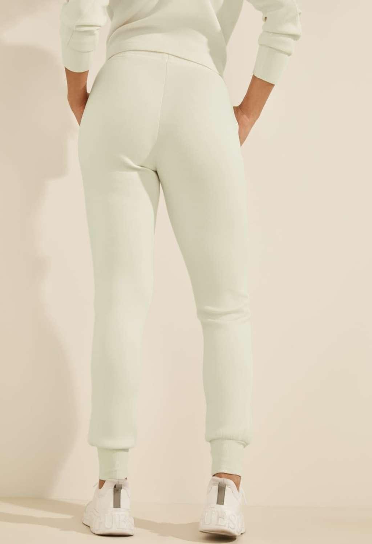 Tuta bianca GUESS fitness   Pantaloni   O1GA49KAMN2MAUVE