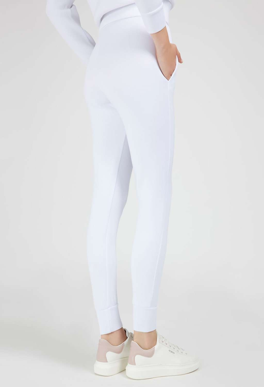 Tuta bianca GUESS fitness | Pantaloni | O1YA14K7UW2BIANCO