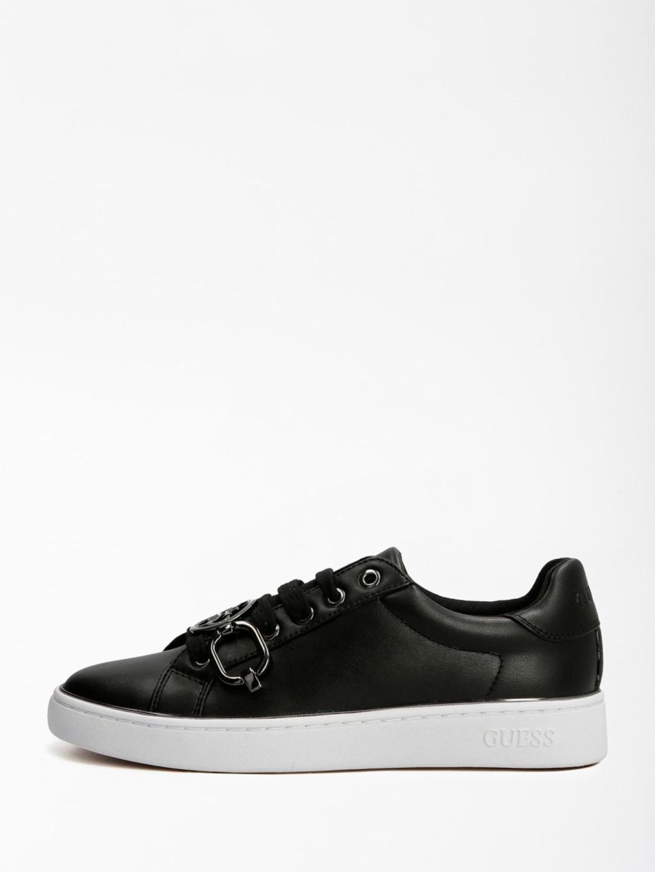 Sneaker nera GUESS SCARPE | Scarpe | FL7BAAELE12NERO