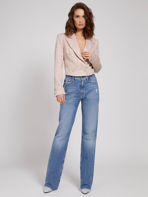 giacca corta rosa GUESS   Capispalla   W1YN49WE0G0PINK