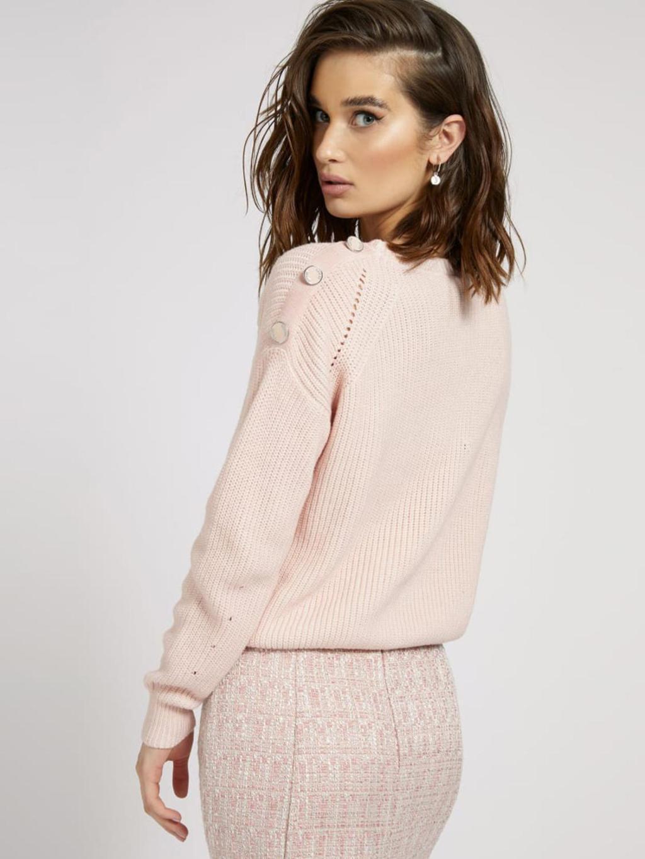 maglione rosa GUESS | Maglieria | W1YR83Z2BB0ROSA