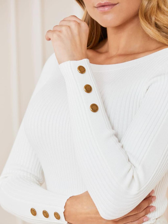 Maglione bianco marciano guess | Maglieria | 1BGR205613ZBIANCO