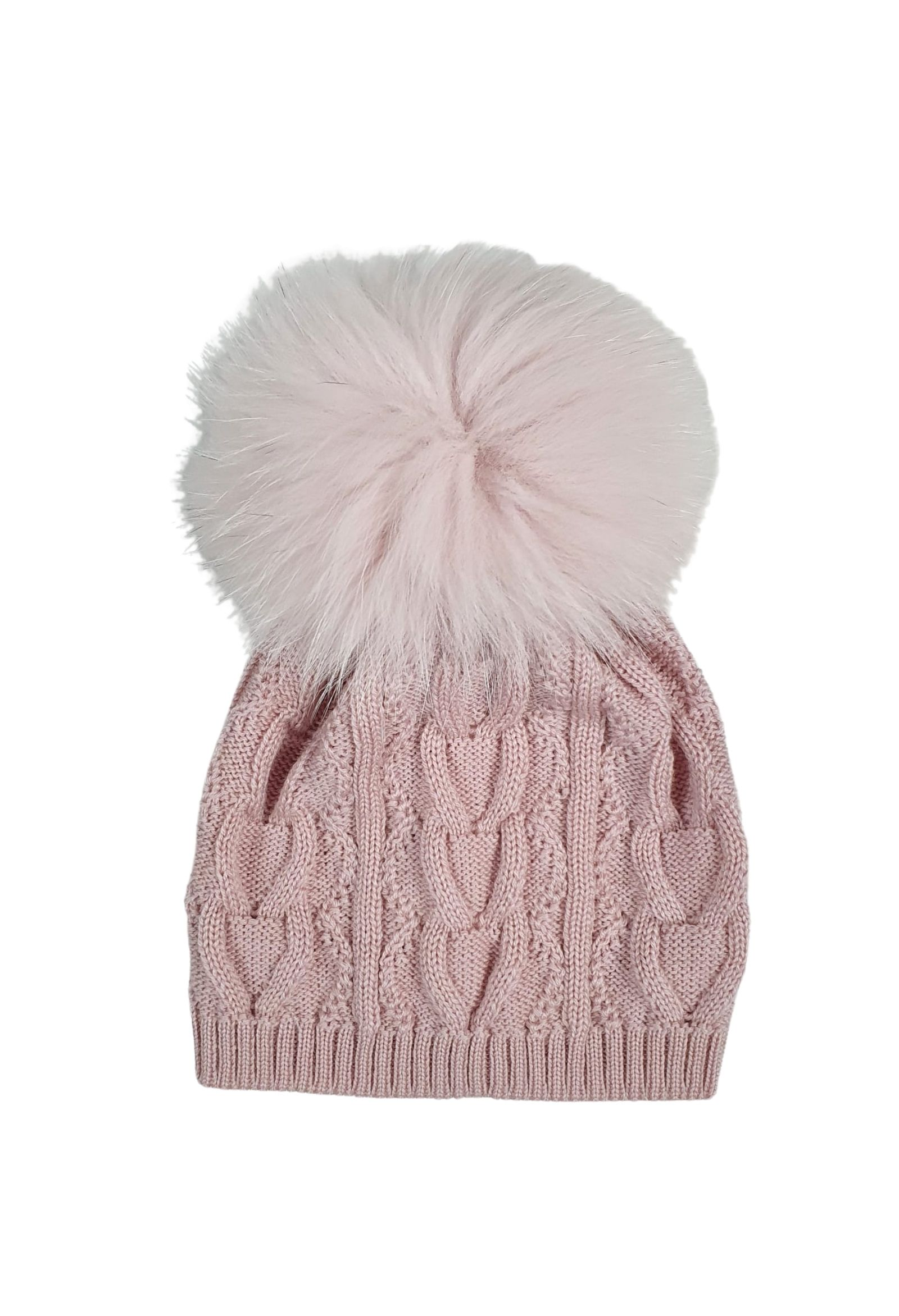cappello in lana con pon pon marsala marlu   Cappelli   IC1071MARSALA