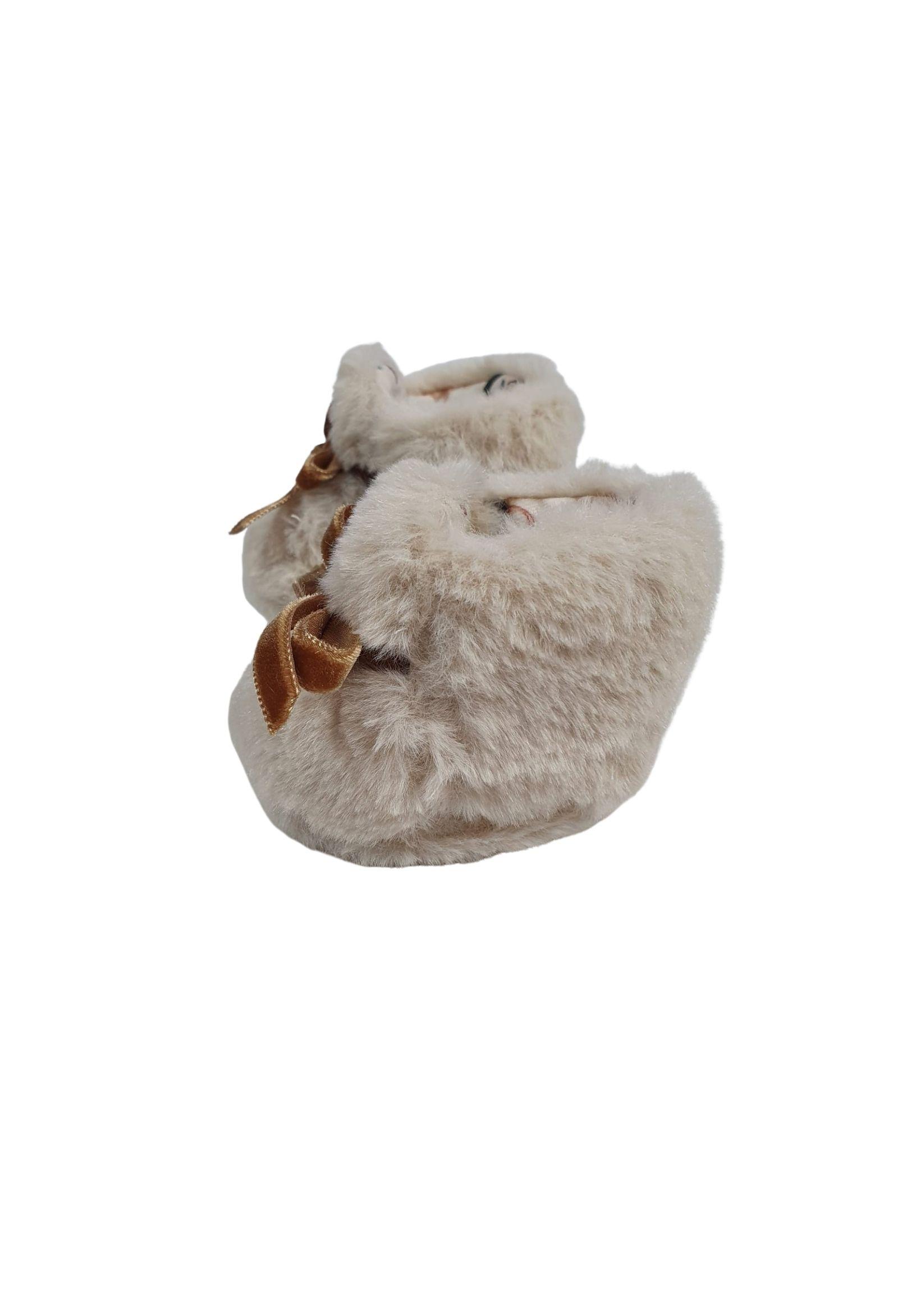 Scarpa calzino in lana cipria marlu | Scarpe | IC20STCCIPRIA