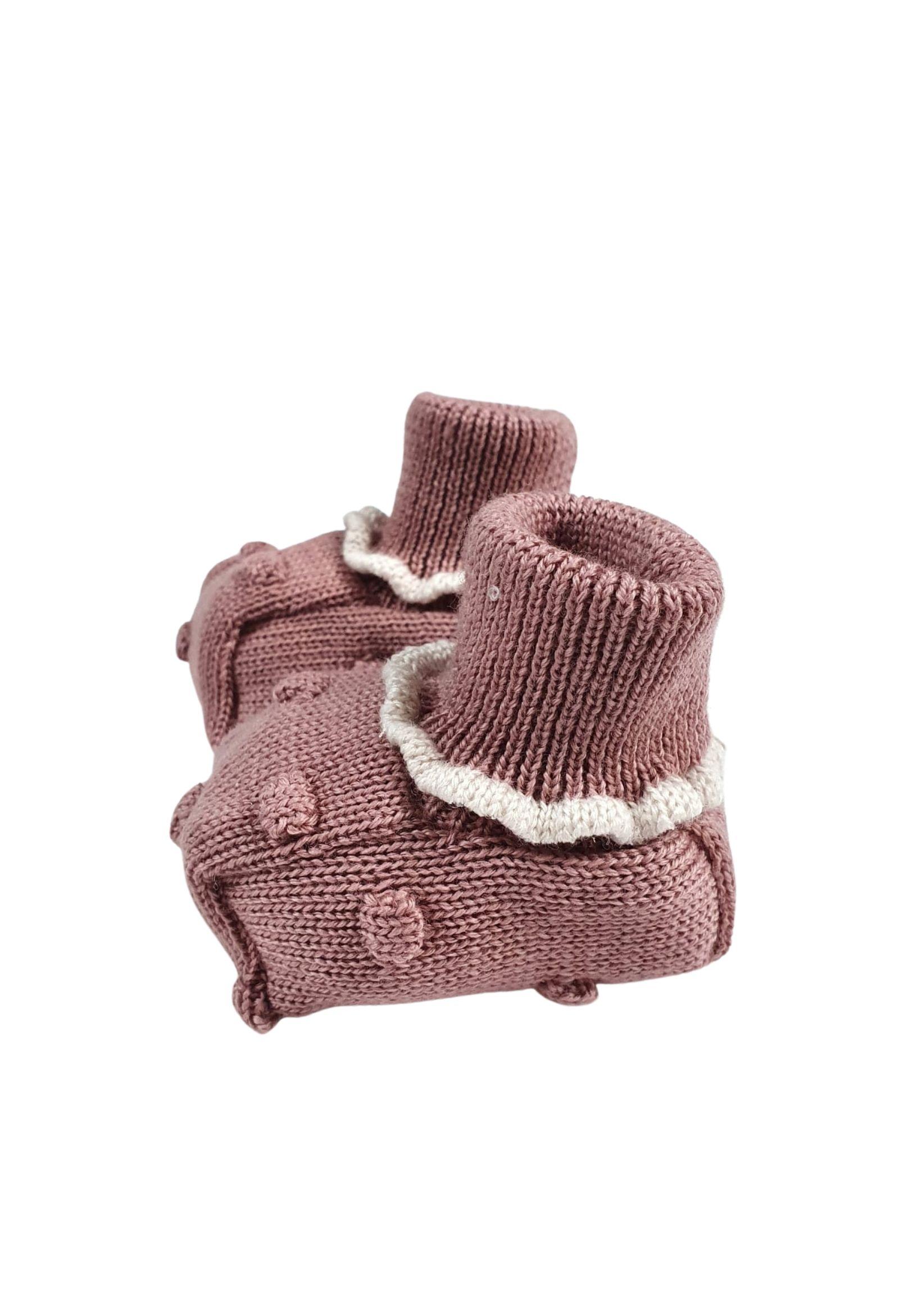 Scarpa calzino in lana melograno marlu   Scarpe   IC24SMELOGRANO