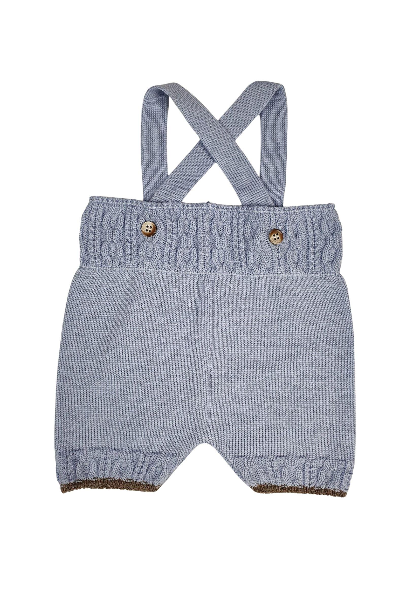 completo 3 pezzi in lana con camicia color cielo marlu | Tutine | IC5360CIELO