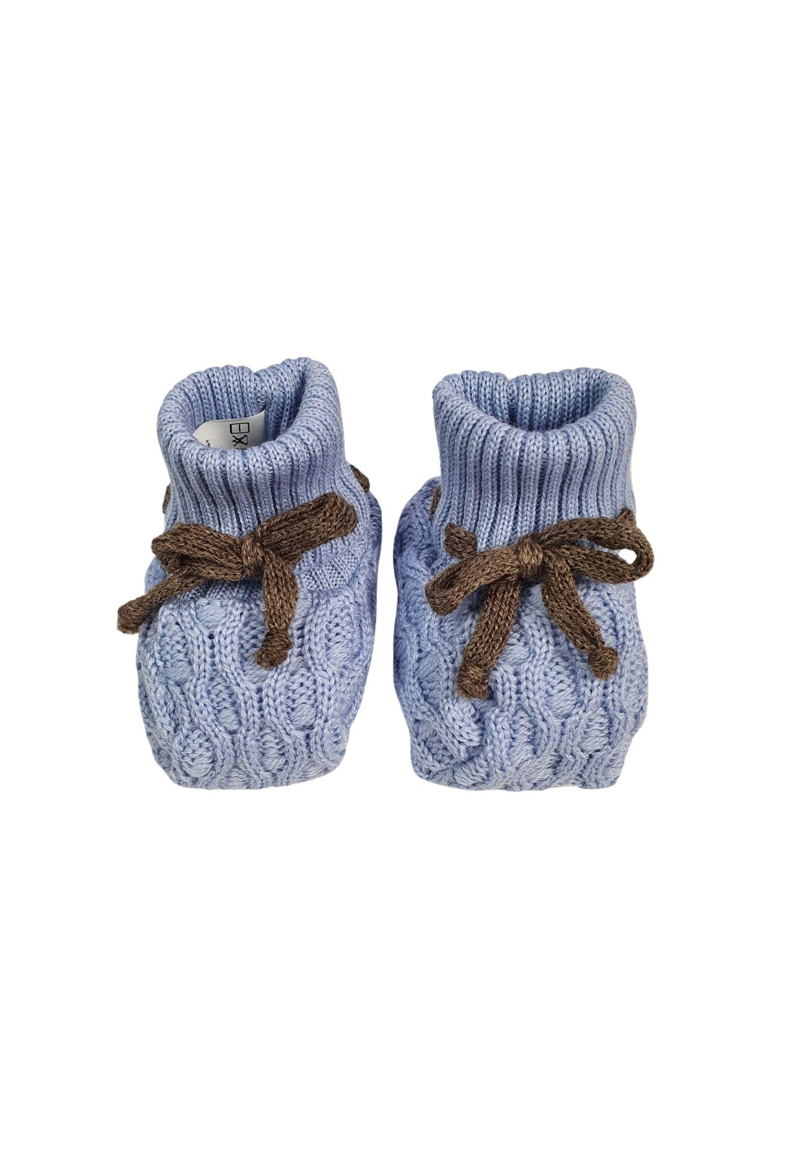 Scarpa calzino in lana cielo marlu   Scarpe   IC53SCIELO