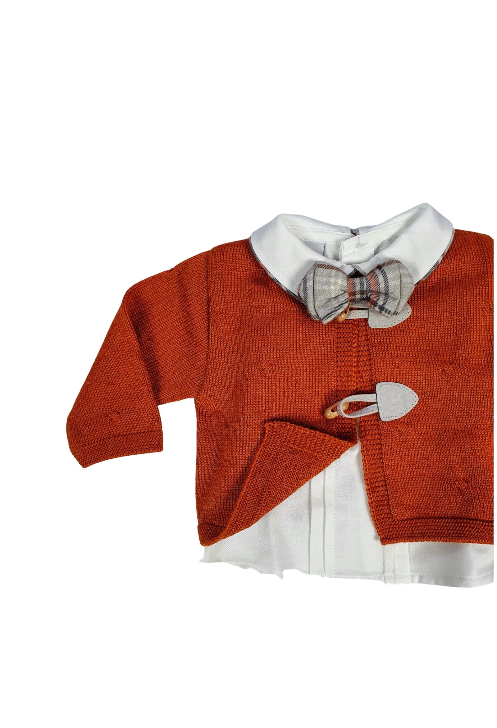 completo 3 pezzi con camicia color acero marlu | Tutine | IC5760ACERO