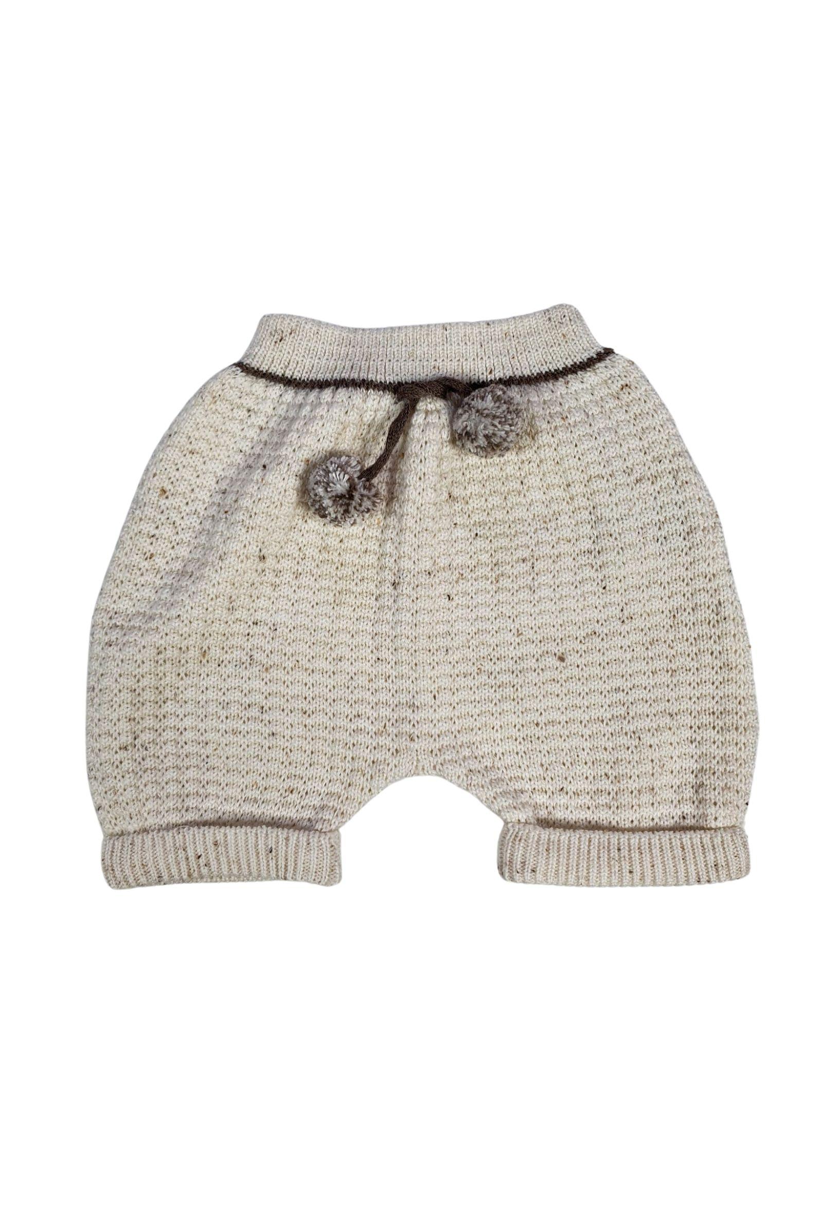 completo 3 pezz in lanai con camicia panna e cacao marlu   Tutine   IC5960PANNA CACAO