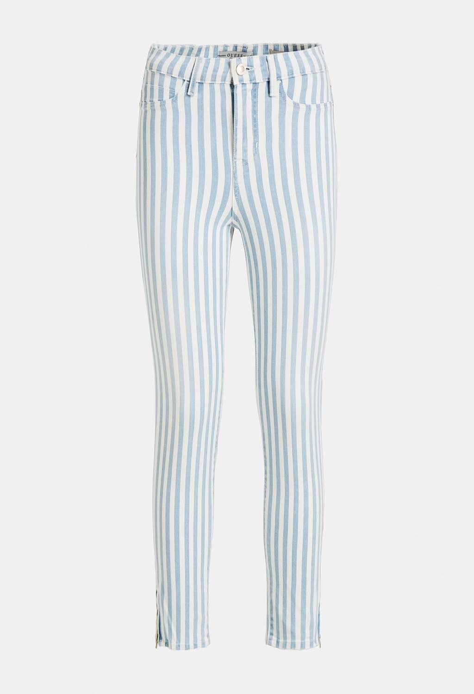 Pantalone rigato guess GUESS   Pantaloni   W0GA18D4051UNI