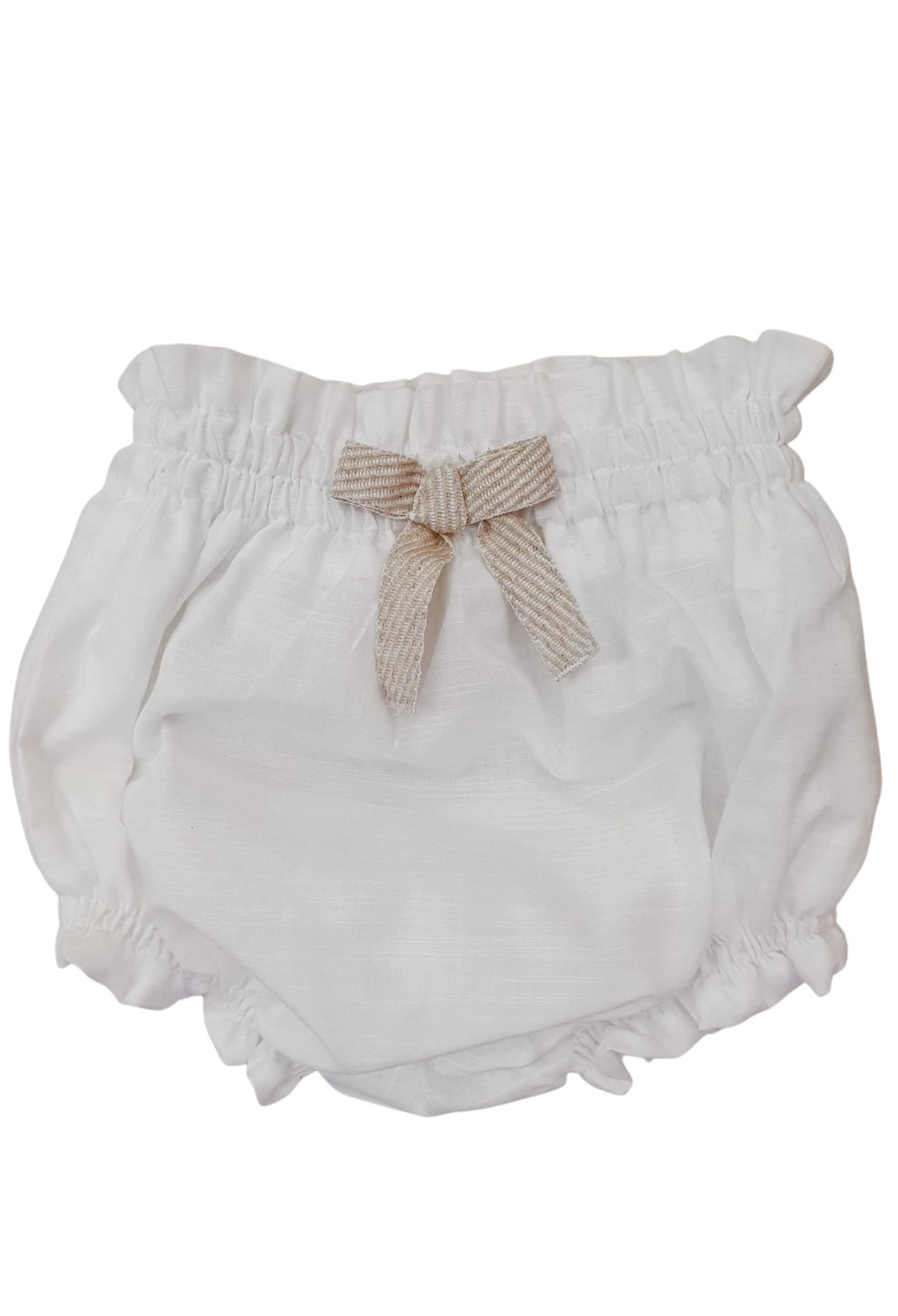 completo camicia e culotte in cotone barcellino   Completi   9421UNI