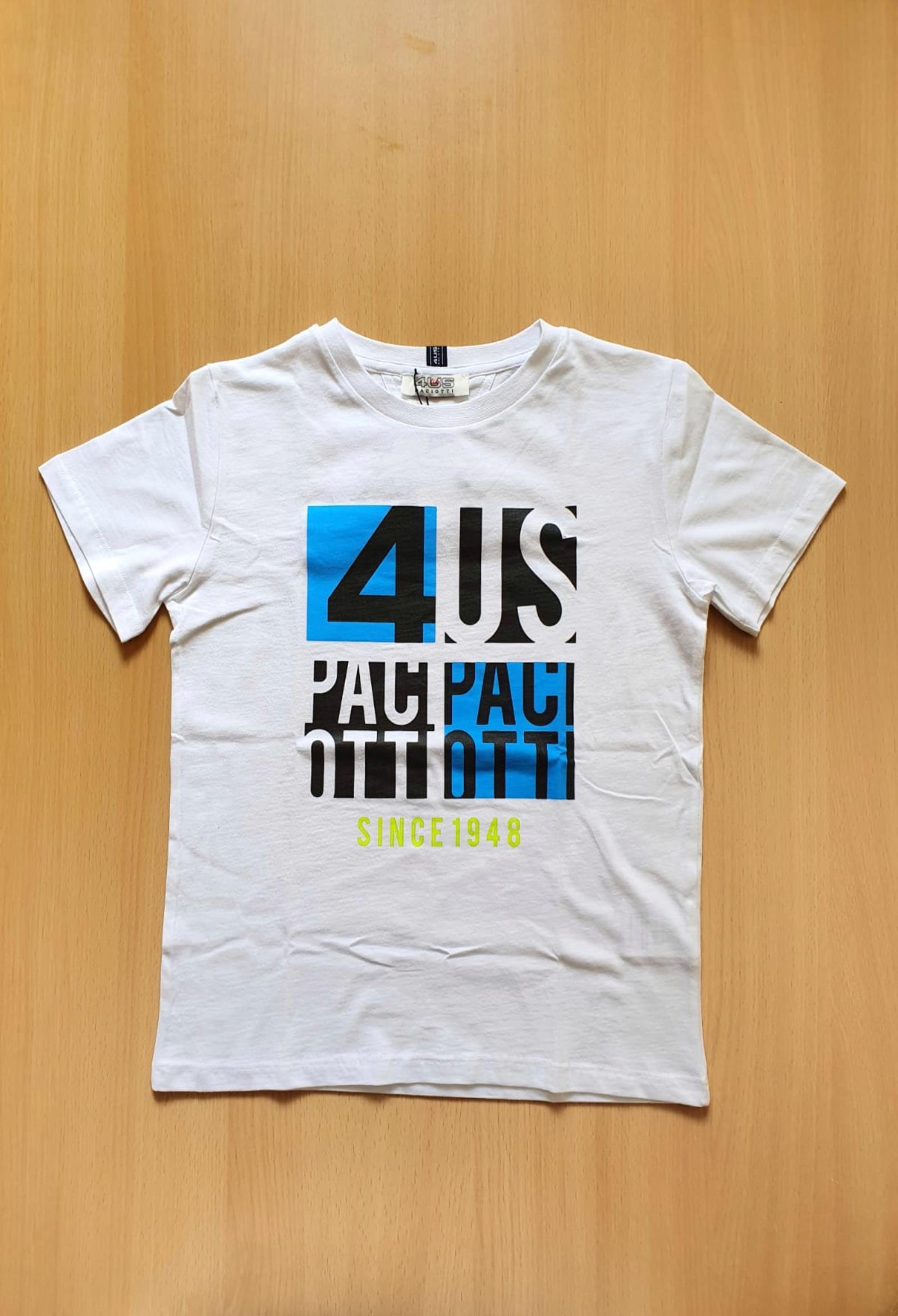 T-SHIRT STAMPA LOGO FRONTALE  BIANCA cesare paciotti   T-shirt   TSP1129JUNI