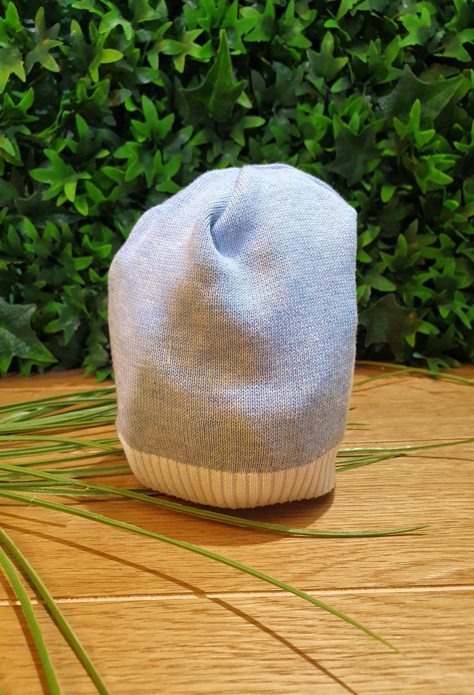 cappello ion cotone azzurro e bordo bianco colori chiari   Cappelli   MF785663UNI