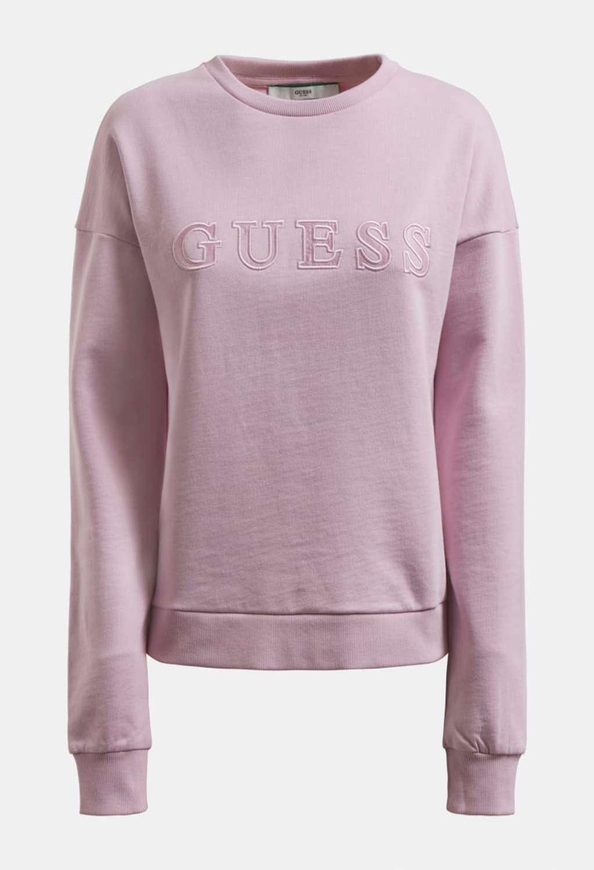 FELPA GLICINE GUESS GUESS beachwear | Felpe | 01GA01K68I1CREMA
