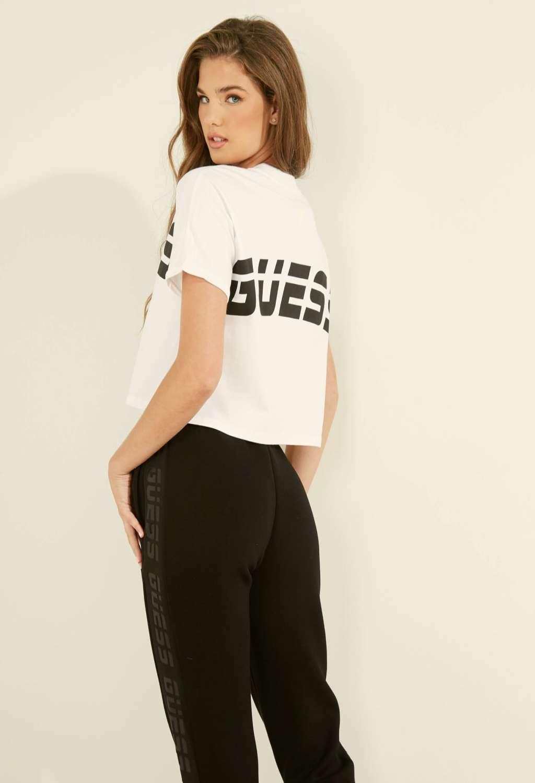 T-shirt bianca guess GUESS beachwear | T-shirt | 01GA03K8HM0WHITE