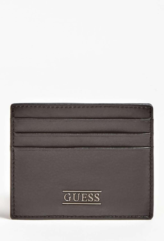 Porta carte nero guess GUESS borse man   Portafogli   SM2420BLACH