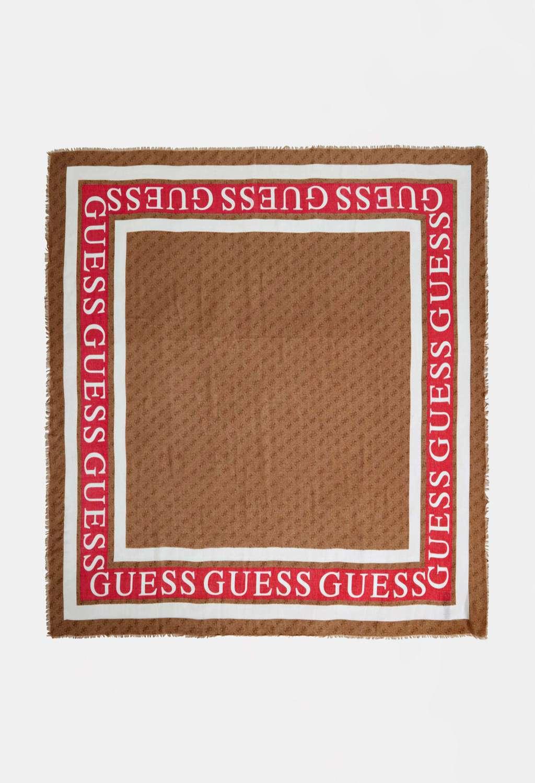 Foulard marrone guess GUESS borse   Foulard   AW8606LATTE