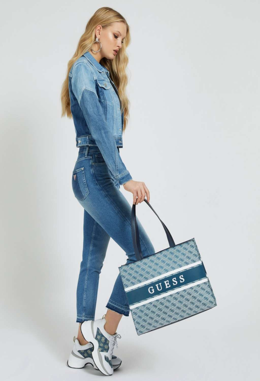 SHOPPER BLU GUESS GUESS borse | Borse | JY7894230BLUE
