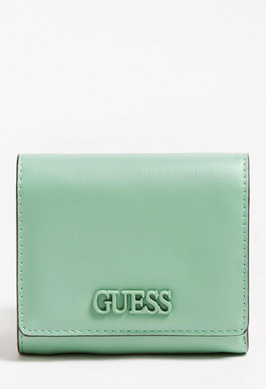 Mini-portafoglio verde guess GUESS borse   Portafogli   VG8109430GREEN