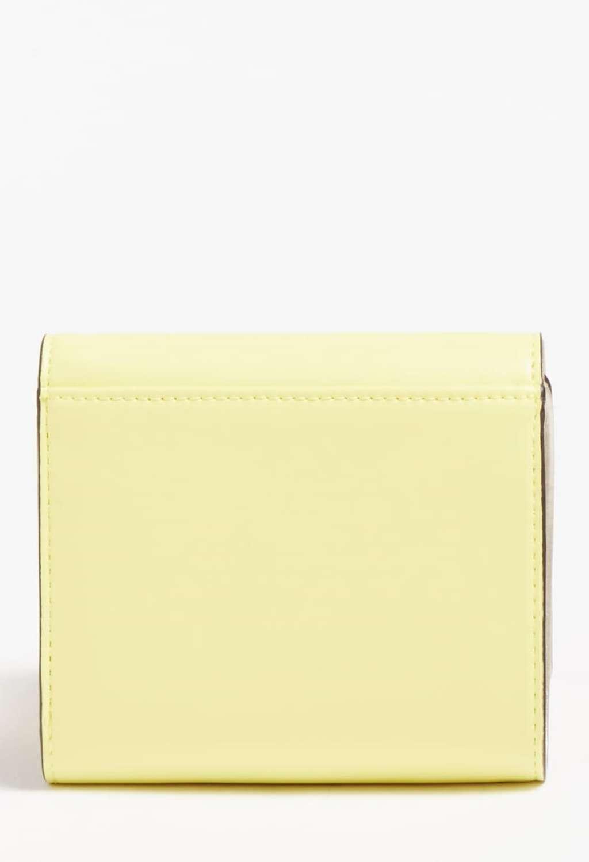 Mini-portafoglio giallo guess GUESS borse   Portafogli   VG8109430LIME