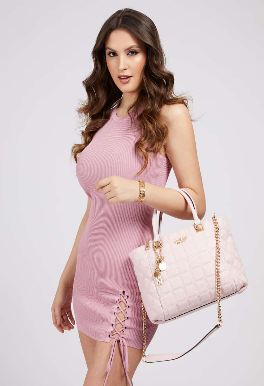 Borsa rosa trapuntata guess GUESS borse | Borse | VS8111060BLUSH