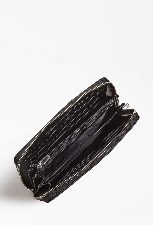 Portafoglio nero guess GUESS borse   Portafogli   VY8108460BLACH