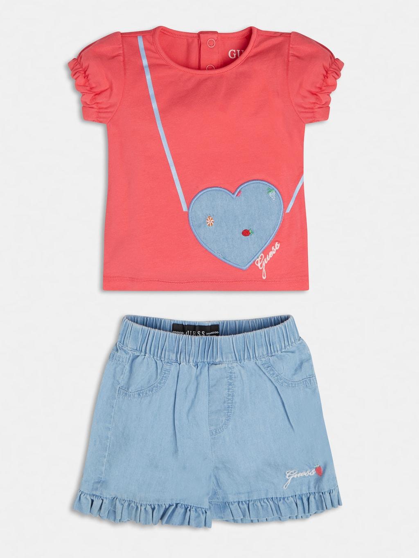 set 2 pezzi t-shirt e short GUESS kids   Set   A1GG14K6YW1PINK