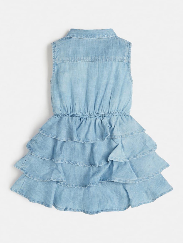 set 2 pezzi abito in denim e culotte GUESS kids   Set   A1RK07D3X30SLLB