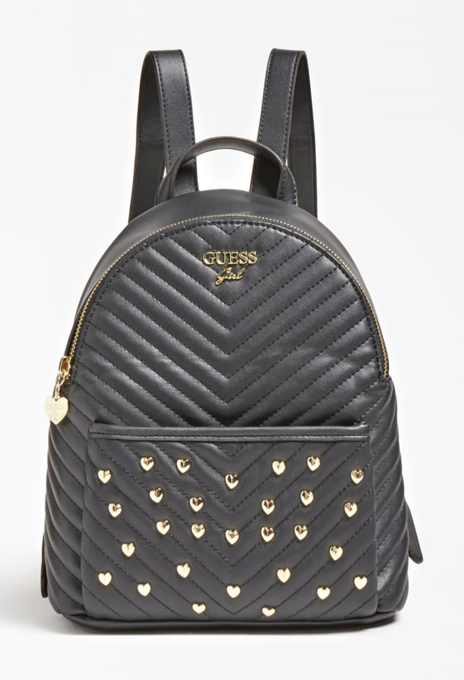zaino multi tasca laminato nero con borchie GUESS kids | Borse | HGKAT1PU211BLACK