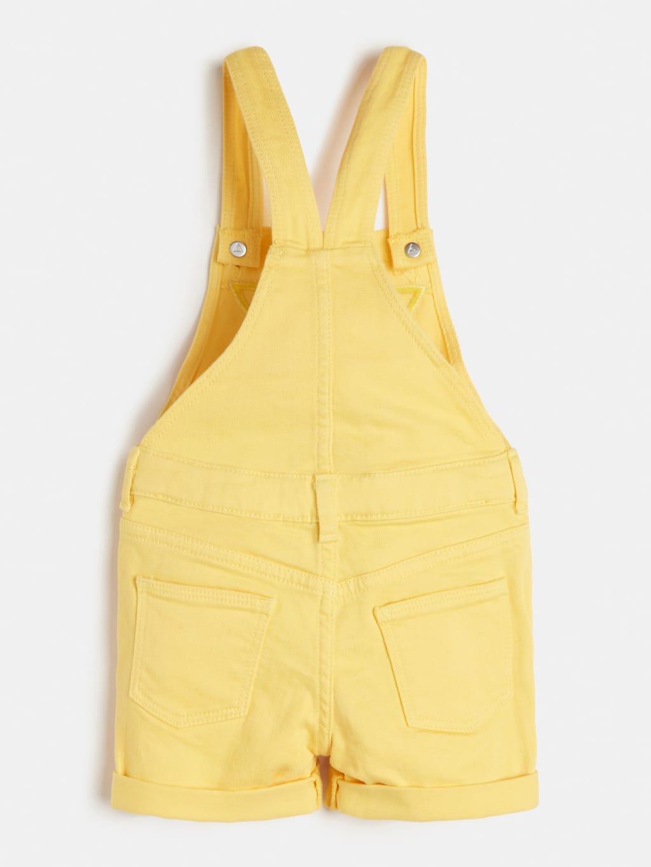 salopette in denim logo frontale giallo GUESS kids | Abiti | K1GK10WB5Z0SNLT