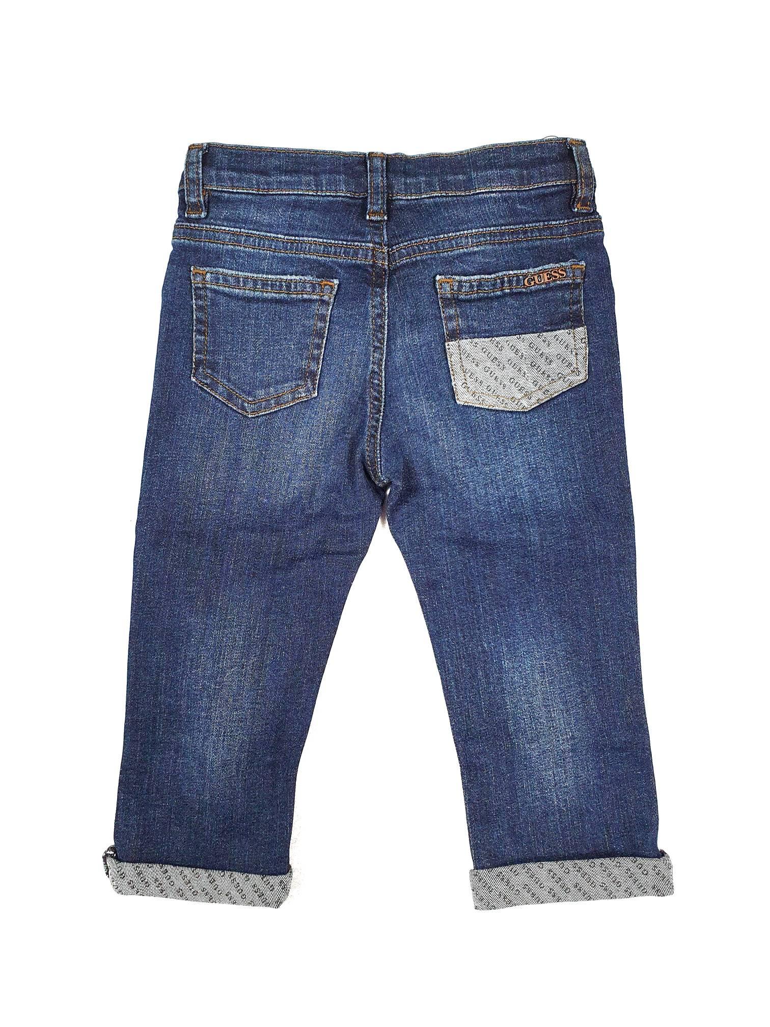JEANS CON TASCHE LOGATE GUESS GUESS kids | Pantaloni | N1RA02D46T0LPBW