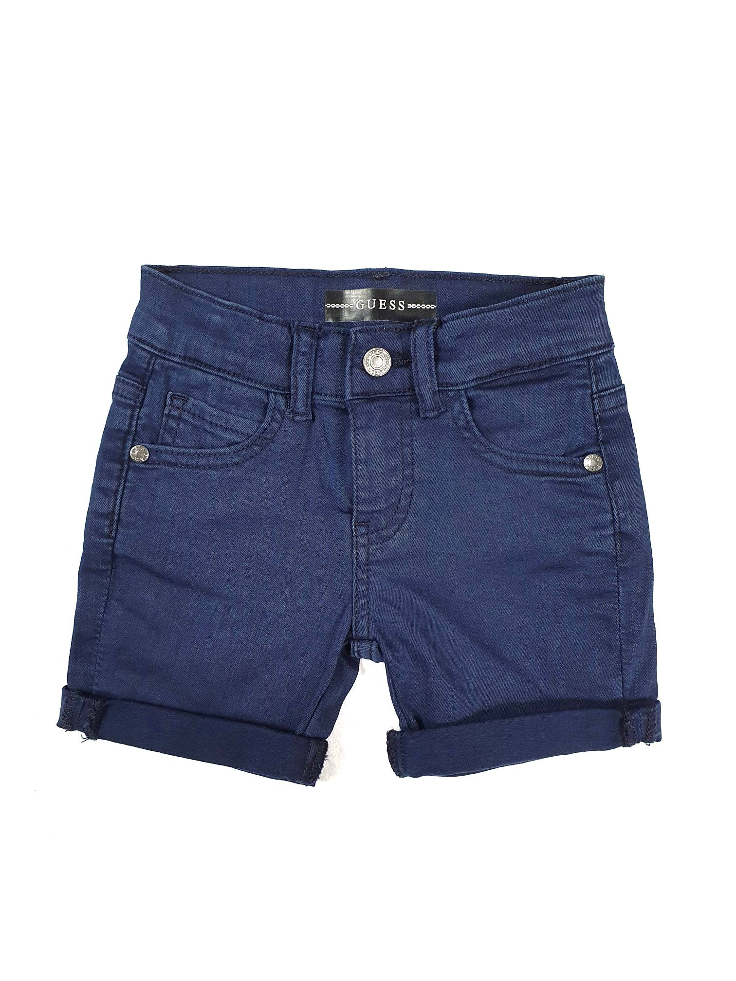 BERMUDA BLU MODELLO 5 TASCHE GUESS kids   Pantaloni   N1RD03WCTF0DEKB