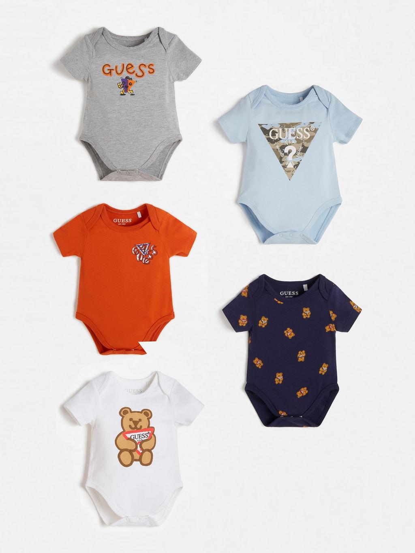set 5 body neonato colorati GUESS kids | Set | P1RG02J1311MLCL