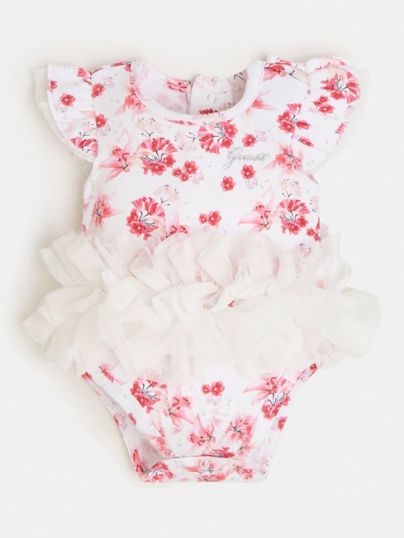 pagliaccetto rosa e fantasia floreale GUESS kids   Set   S1RG11KA6W0P569