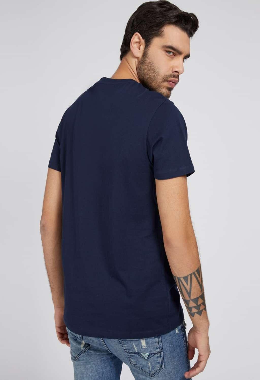T-shirt blu guess GUESS man   T-shirt   M1GI66K8HM0BLU