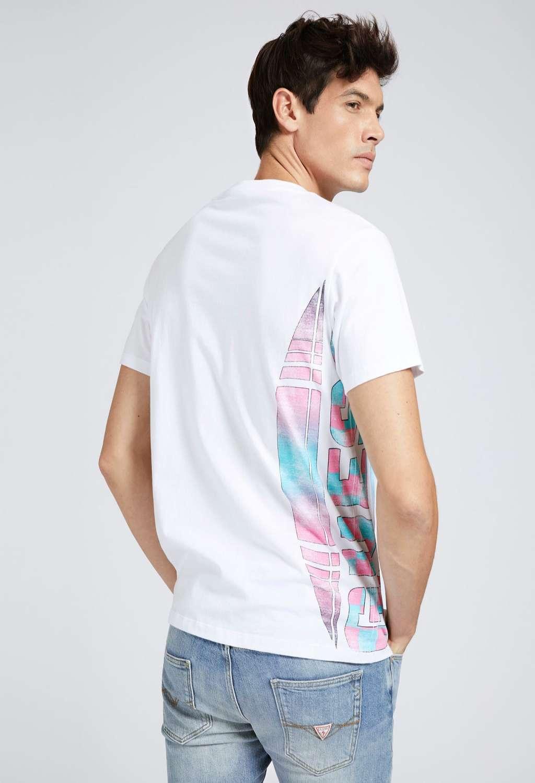 T-shirt bianca guess GUESS man | T-shirt | M1GI79I3Z11WHITE
