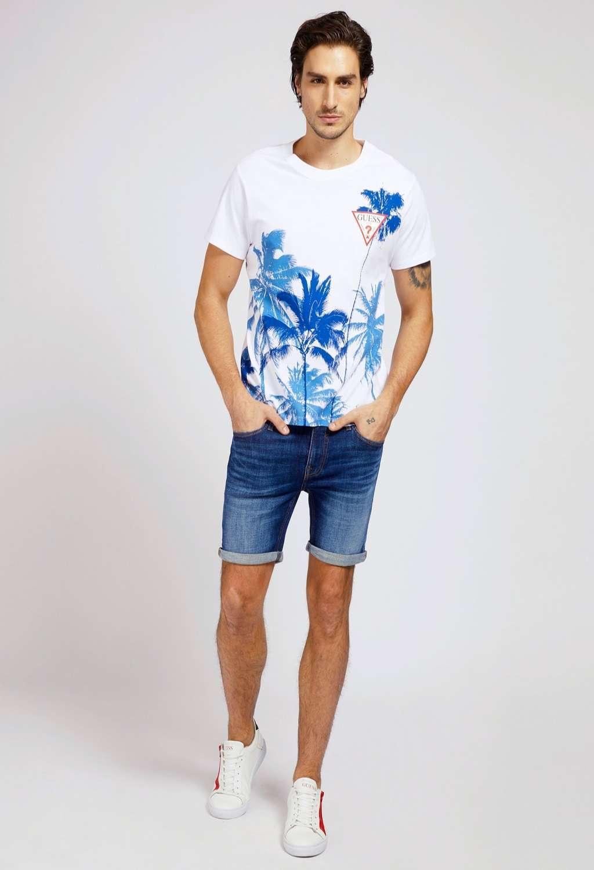 T-shirt a fantasia guess GUESS man | T-shirt | M1GI85K8FQ1WHITE