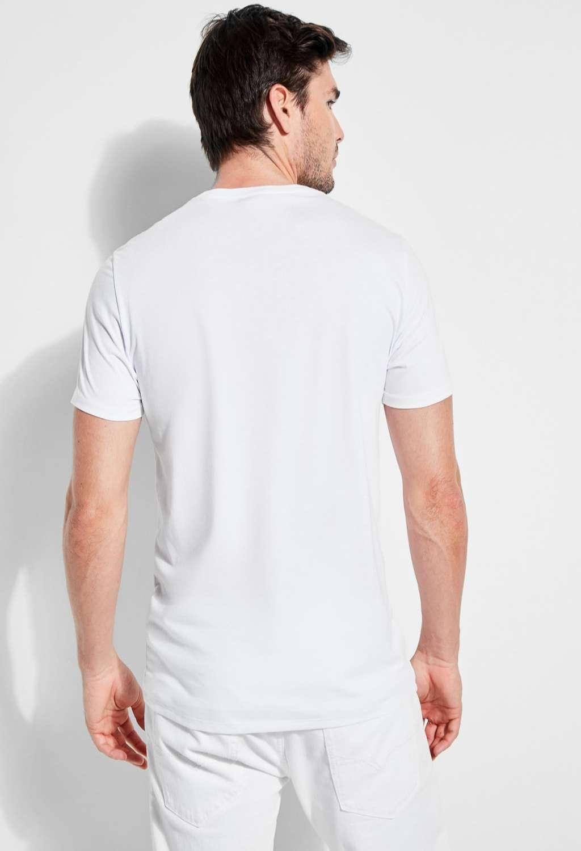 T-shirt bianca guess GUESS man   T-shirt   M82P64R7HD0BIANCO