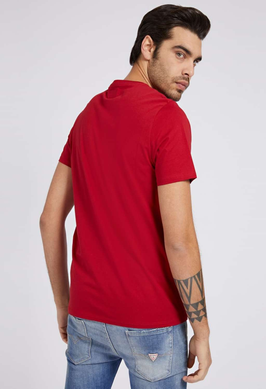 T-shirt rossa guess GUESS man | T-shirt | M82P64R7HD0ROSSO