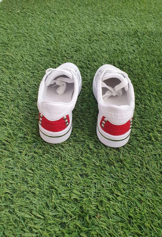 Sneaker bianca guess GUESS SCARPE   Scarpe   FL6R1CPAT12ROSSO