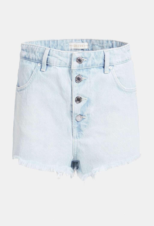 Short in denim guess GUESS | Gonna e Shorts | W1GD59D3P31BIANCO