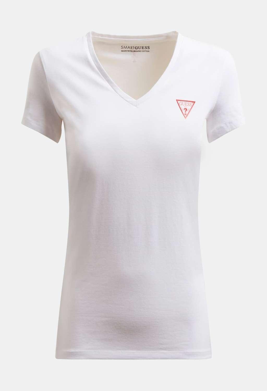 T-SHIRT BIANCA GUESS GUESS   T-shirt   W1GI17J1311WHITE