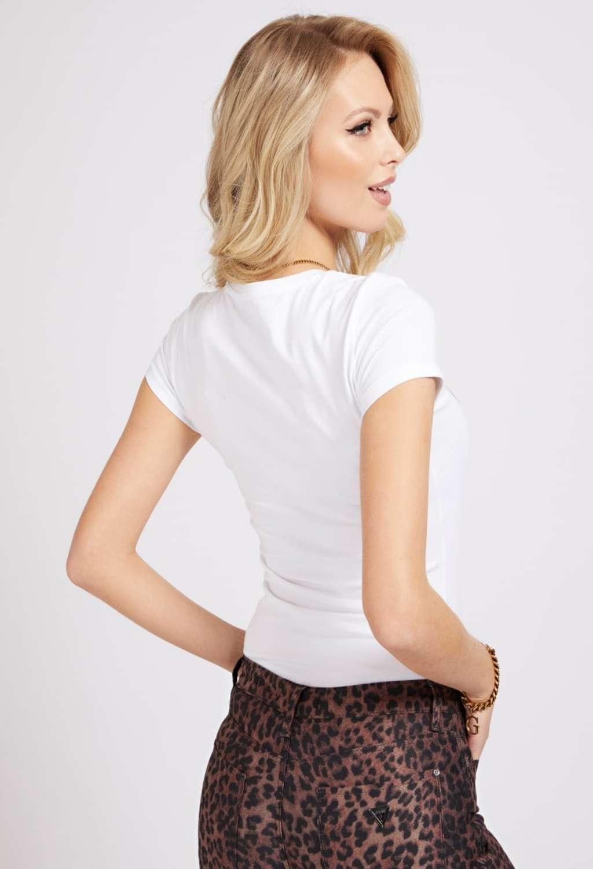 T-SHIRT BIANCA GUESS GUESS | T-shirt | W1GI36J1300BIANCO