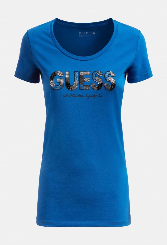 T-SHIRT BLU GUESS GUESS | T-shirt | W1GI36J1300CELESTE