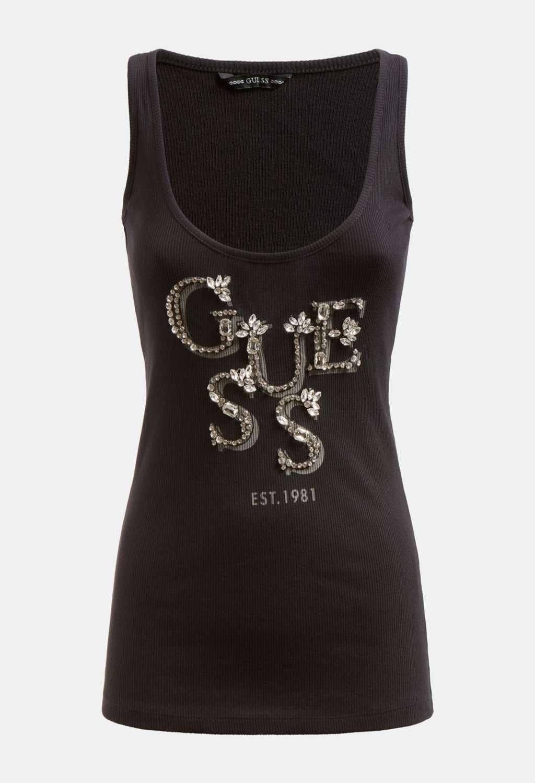 CANOTTA NERA GUESS GUESS | T-shirt | W1GP0JK1811NERO