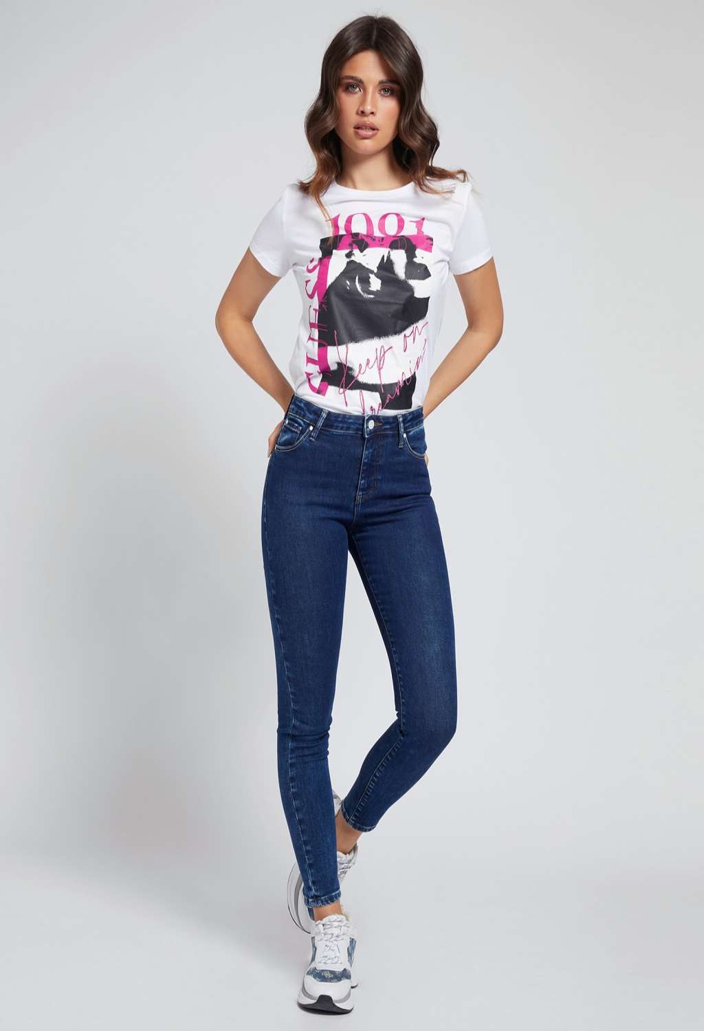 Jeans skinny guess GUESS   Jeans   W1RA95D4663UNI