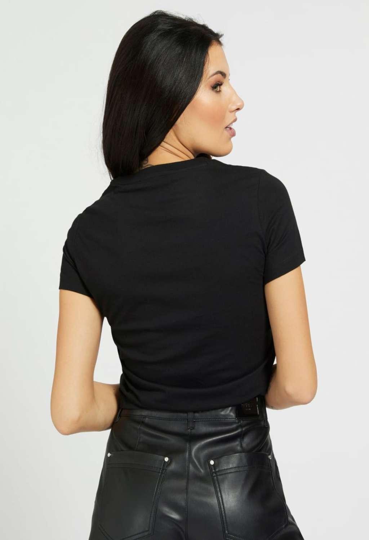 T-shirt nera guess  GUESS | T-shirt | W1RI05JA900NERO