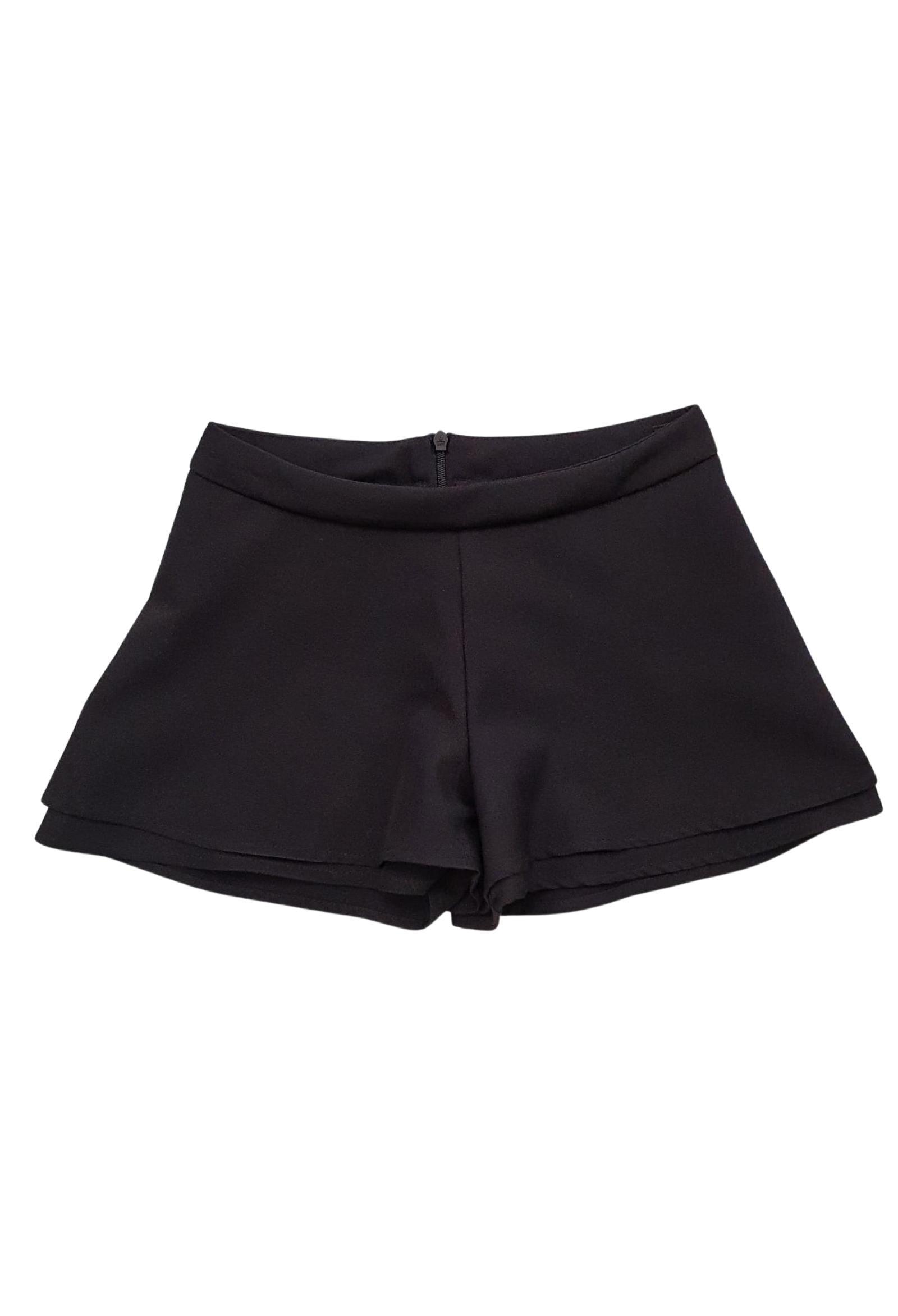 short in cotone nero lù-lù LULU   Gonna e Shorts   LL0258UNINERO