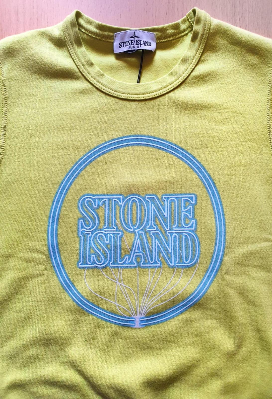 FELPA GIROCOLLO CON LOGO LUMINESCENTE stone island | Felpe | 741662340V0031