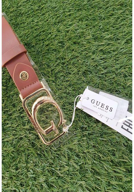 CINTURA GUESS BEIGE GUESS borse | Cinture | BW7394COGNAC